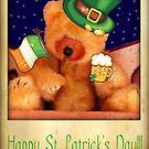 Happy St. Patrick's Teddy by vigor
