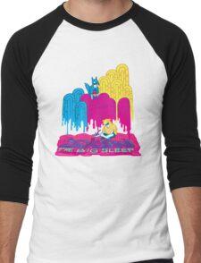 The Big Sleep @ SXSW Men's Baseball ¾ T-Shirt