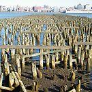 Abandoned Pier, Hoboken, New Jersey by lenspiro