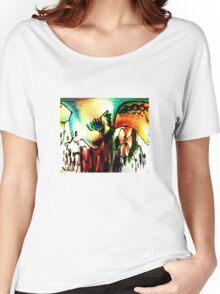 Bird of paradise Women's Relaxed Fit T-Shirt
