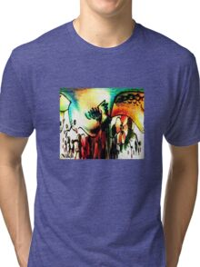 Bird of paradise Tri-blend T-Shirt