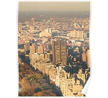 Central Park, Fifth Avenue View, As Seen from Top of the Rock Observation Deck, New York   Poster