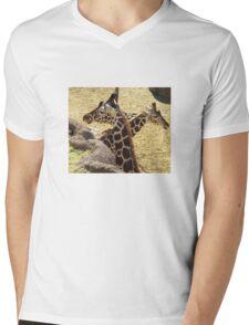 Nature-friends Mens V-Neck T-Shirt