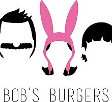 Bob's Burgers by dragedesigns