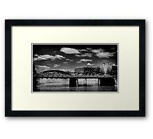Bridge from the 1930s  Framed Print