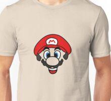 Mario face Unisex T-Shirt