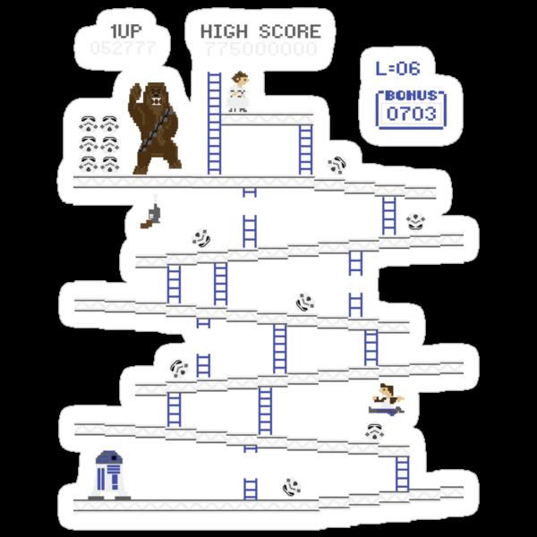 Wookie Kong by beware1984