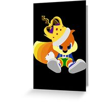 Conker Greeting Card