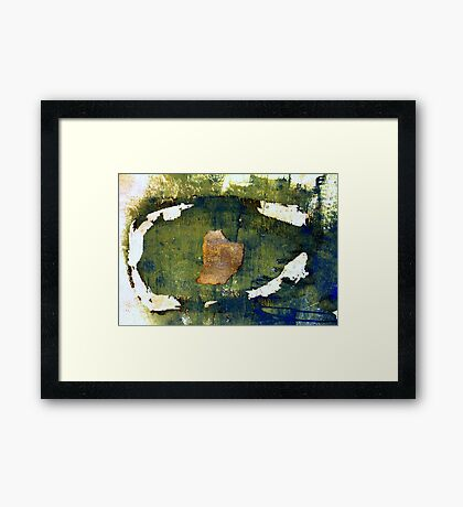 Wall painting Framed Print