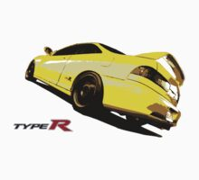 Acura Integra Type R (yellow) by avdesigns