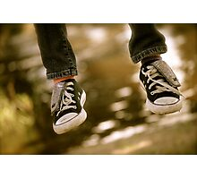 Chilling Converse Photographic Print