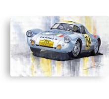 Porsche 550 Coupe #154 Carrera Panamericana 1953 Canvas Print