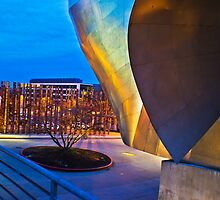 EMP MUSEUM SEATTLE  by Uri Z. Fogel