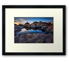 In the Still of the Cove Framed Print