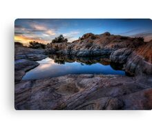 In the Still of the Cove Canvas Print