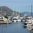 Marina On Cap Ferrat by Fara