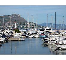 Marina On Cap Ferrat Photographic Print