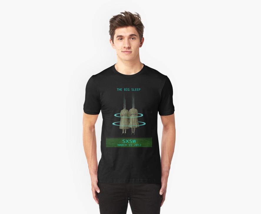 Twilight Sisters T-shirt (for The Big Sleep t-shirt contest) by Elizabeth Burton