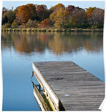 Fall Dock by lindsycarranza