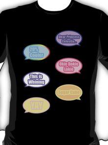 Pony Phrases T-Shirt
