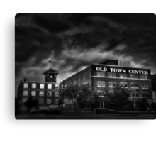 Old Town in Wichita, KS Canvas Print