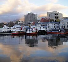 Constitution Dock, Hobart by Wendy Dyer
