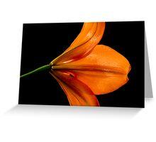 Jesus Flower Greeting Card