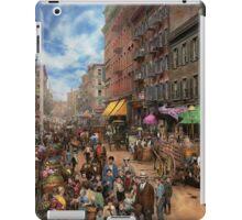 City - NY - Flavors of Italy 1900 iPad Case/Skin