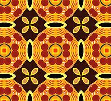 60's Abstract Pattern by Lisa V Robinson