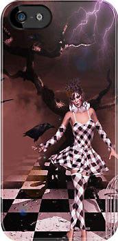 Raven's Interlude~ iPhone/iPod cover by shutterbug2010