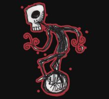 cyclops on a unicycle by Matt Mawson
