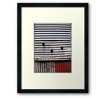 """Corrugations"", Inveresk, Launceston Framed Print"