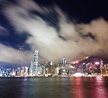 City of Night - Hong Kong by Alfred Tang