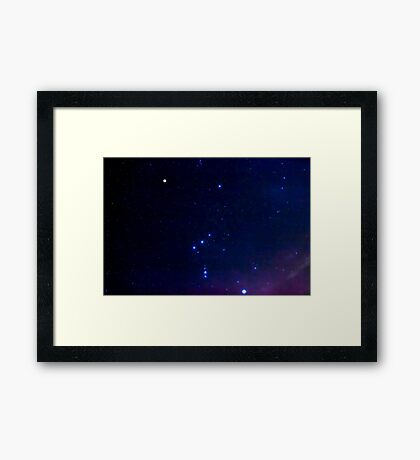Constellation Orion Framed Print
