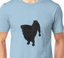 Black Pug TeeShirt Unisex T-Shirt