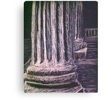 Grecian Columns Canvas Print