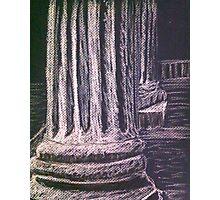 Grecian Columns Photographic Print