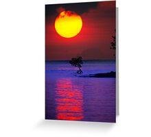 Fireball Bali Sunrise Greeting Card
