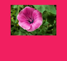 Early Summer Blooms Impressions - Bright Pink Malva Womens Fitted T-Shirt