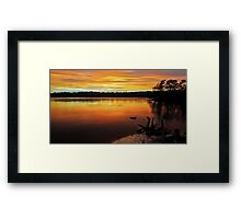 Colour of Narrabeen Framed Print