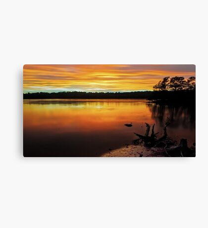 Colour of Narrabeen Canvas Print