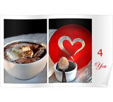 Chocolate, Cream and Sweet Moments Poster