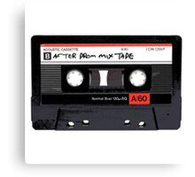 Mix Tape: After Prom Canvas Print