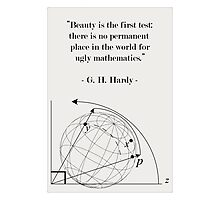 Science Art Math Quote Photographic Print