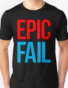 Epic Fail (red/sky blue) T-Shirt