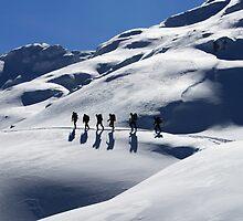 Winter Hiking by beavo