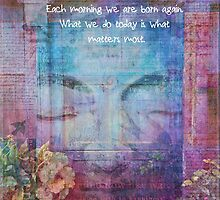 Buddha Quote empowering, inspirational and uplifting by goldenslipper