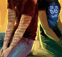 Jordan Kyle & Maia Roberts  Sticker
