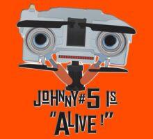 Johnny 5 is ALIVE! Kids Tee