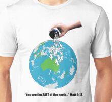 SALT - Black Text Unisex T-Shirt